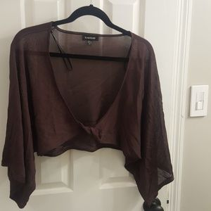 Beautiful top Sheer chiffon